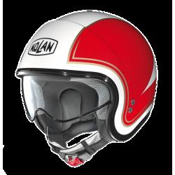 Moto helma Nolan N21 Tricolore Metal White 31