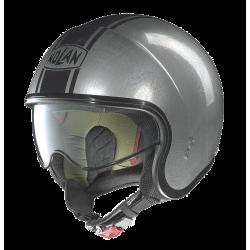 Moto helma Nolan N21 Caribe Scratched Chrome 24