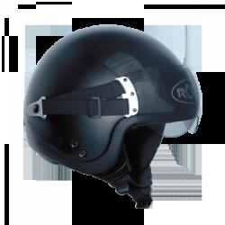Moto helma Roof Kicker, černá