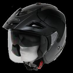Moto helma Cyber U-388 černá lesklá