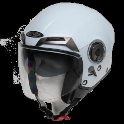 Moto helma Cyber U-44 bílá