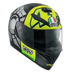 AGV moto přilba K-3 SV Winter Test 2012