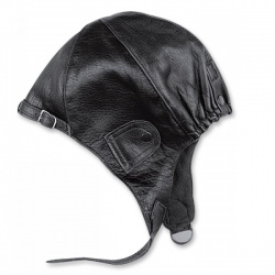 Kožená kukla HELD, černá (old style)