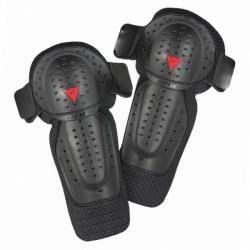 DAINESE KIT J E1 moto chrániče kolen do kalhot, černé (sada)