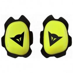Slidery kolenní DAINESE B60D11, fluo žlutá/černá (pár)