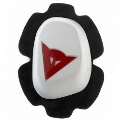 Slidery kolenní DAINESE B60D11, bílá/červená (pár)