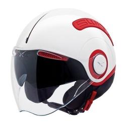 NEXX SWITX SX.10 RED/WHITE PŘILBA