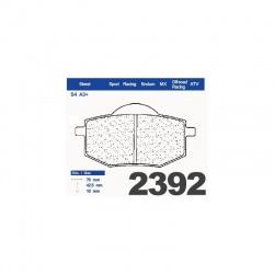 200.2392.S4 - Brzdové destičky 2392 S4