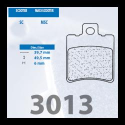 Brzdové destičky 3013 MSC