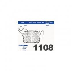 200.1108.XE - Brzdové destičky 1108 EN10 (XE7)