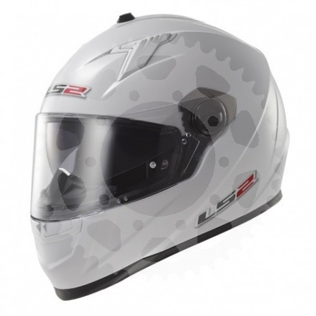 Helma LS2 FF322 Concept II bílá, velikost S