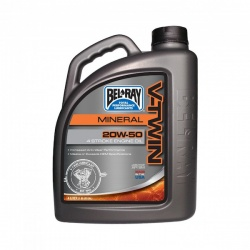 Olej Bel-Ray V-twin Motor Oil 20W-50 - 4l