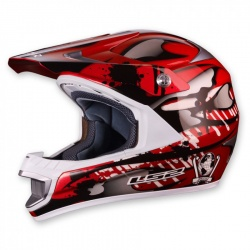 Helma LS2 MX442 Magma, gloss red