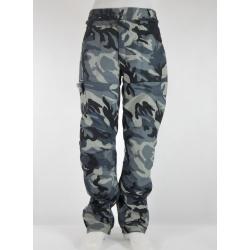 Textilní kalhoty Modeka Army gray