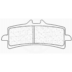Brzdové destičky - přední C4 SUPERBIKE C60