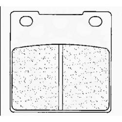 Brzdové destičky - zadní RX